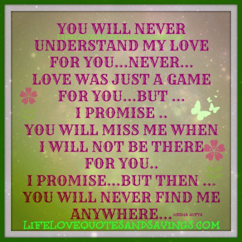 Do You Really Know Me Quotes Quotesgram: Will You Miss Me Quotes. QuotesGram