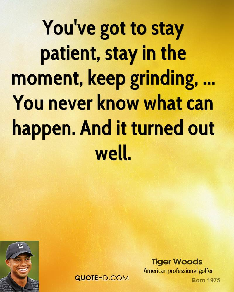 Inspirational Quotes About Positive: Inspirational Quotes By Tiger Woods. QuotesGram