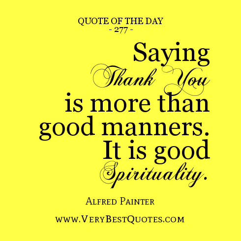 Good Manners Quotes. QuotesGram