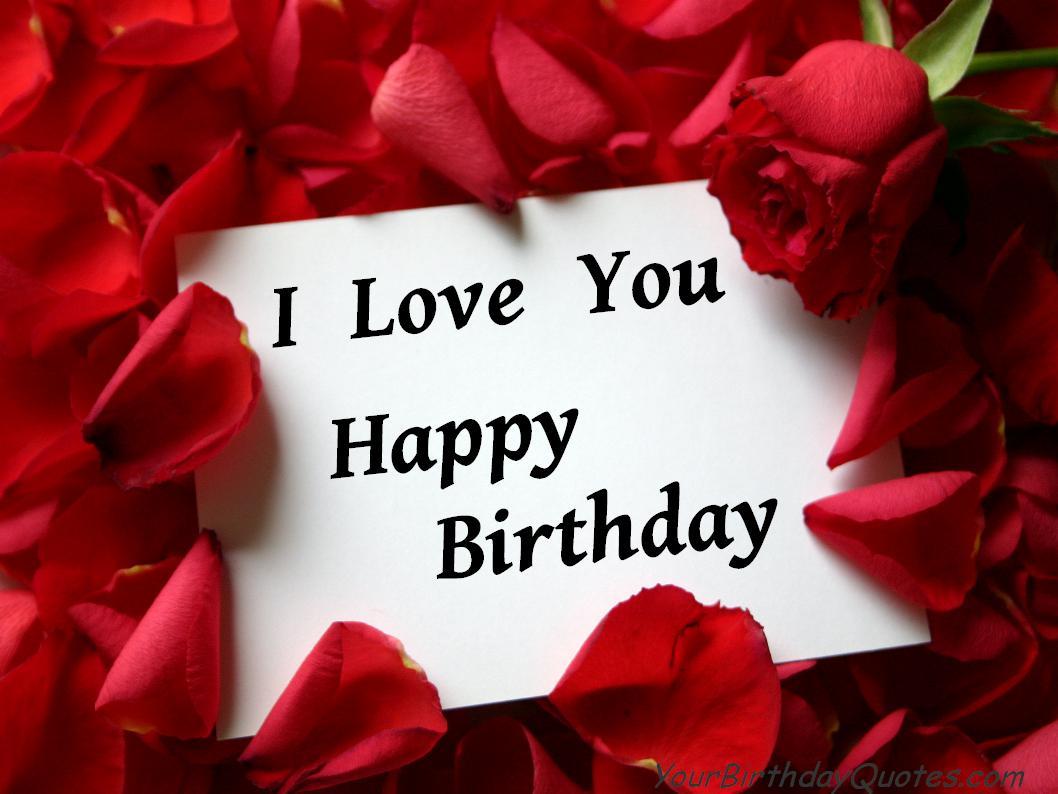 С днем рождения любимого на английском