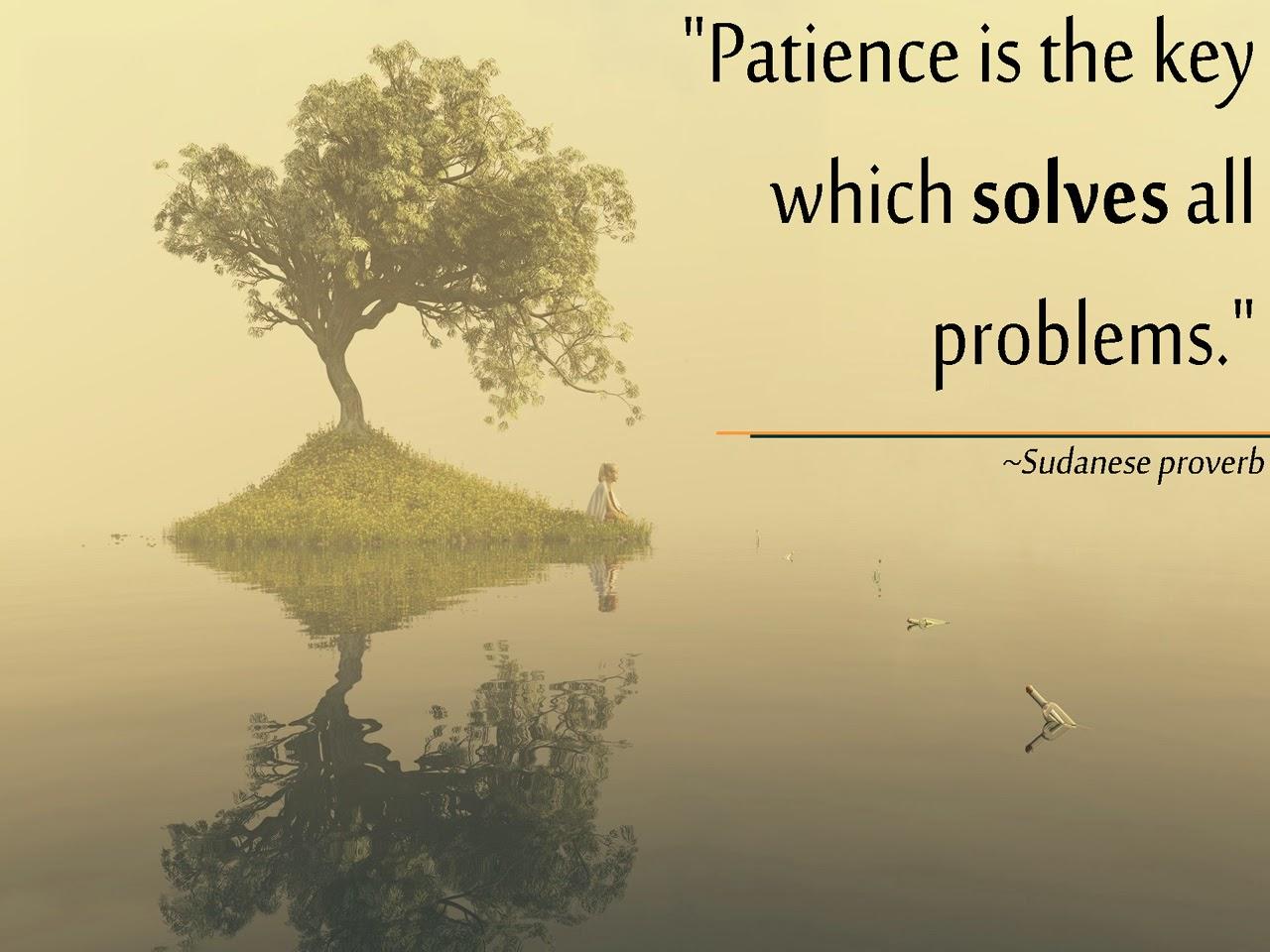 Patience Is Key by Abba Tafida