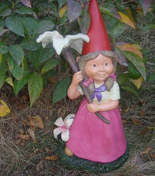 Female Garden Gnomes: Garden Gnome Quotes. QuotesGram