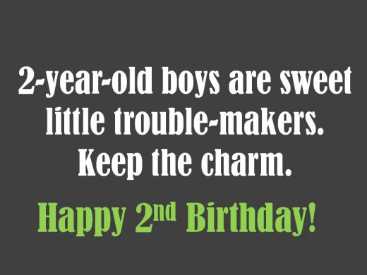 2 Year Old Birthday Quotes Quotesgram