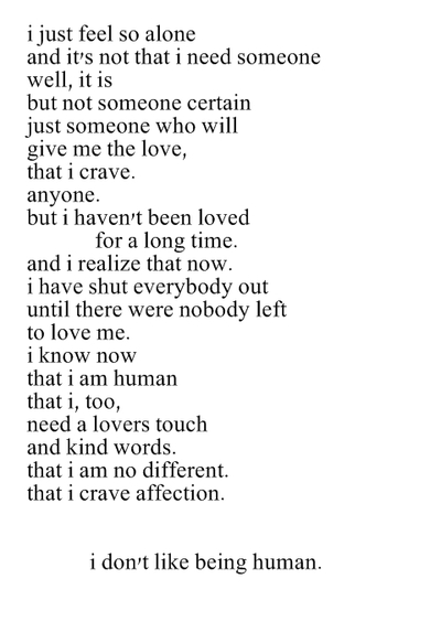 Poems About Having Dep...