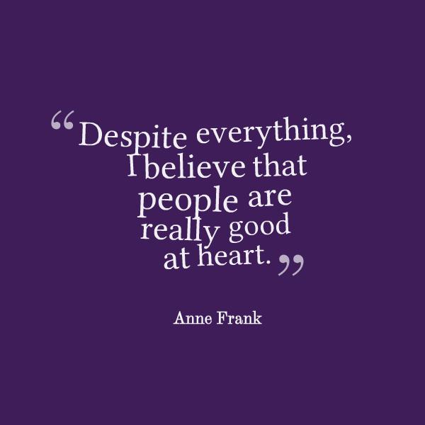Anne Frank Quotes: Anne Frank Quotes. QuotesGram