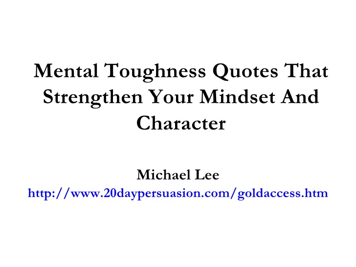 Quotes About Mental Toughness. QuotesGram