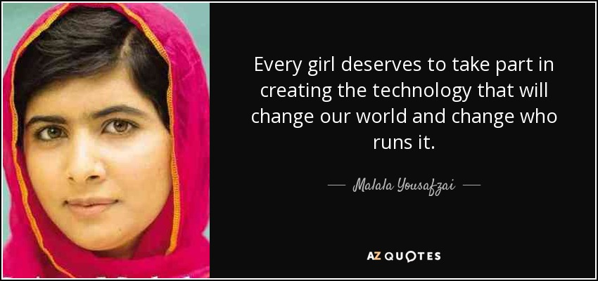 Empowering girls will change our world