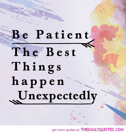 Bad Things Happen Quotes: The Best Things Are Unexpected Quotes. QuotesGram