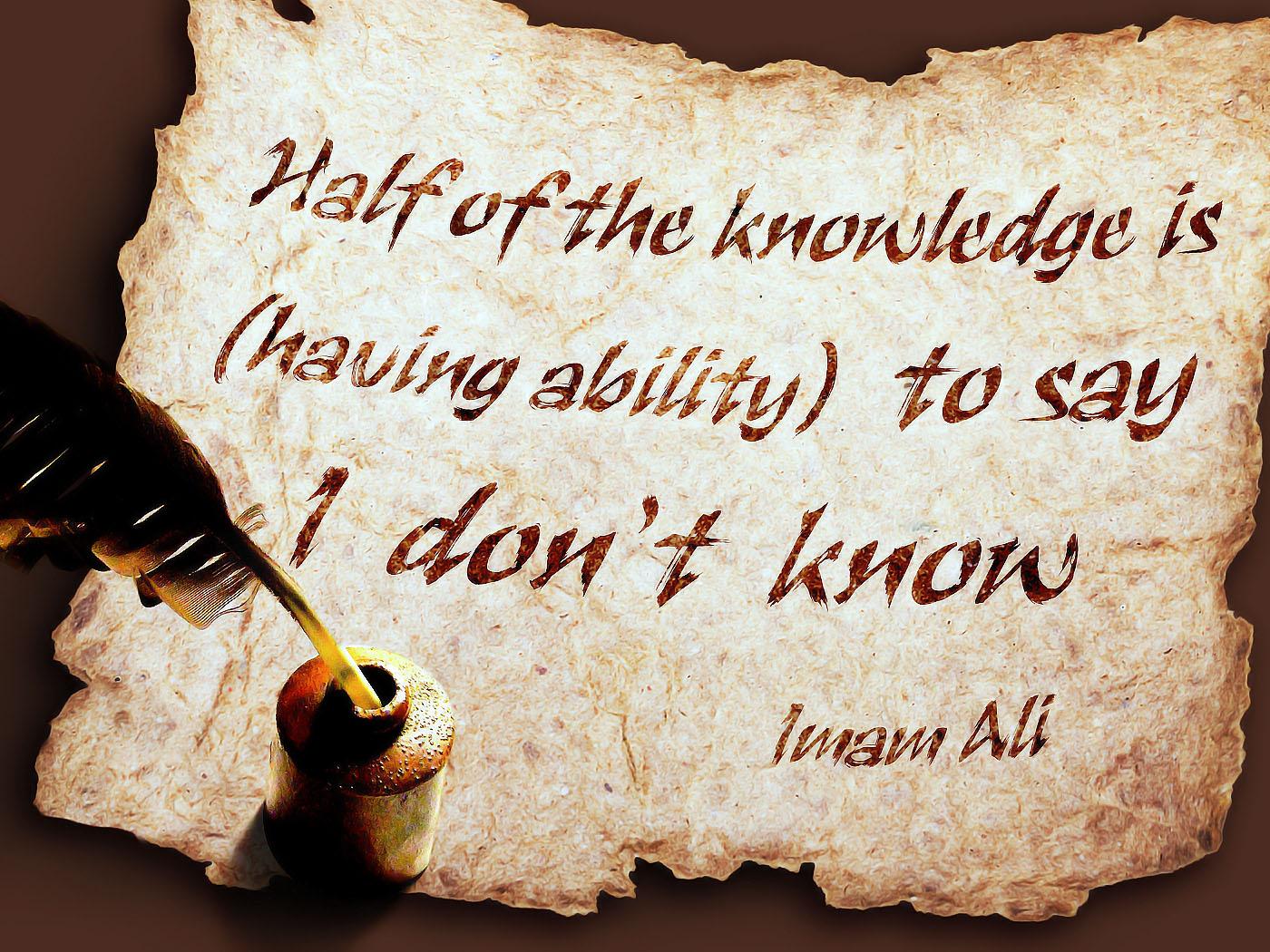 Imam Ali Quotes Inspiring. QuotesGram