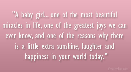 Baby Girl Coming Soon Quotes Quotesgram: Having A Baby Girl Quotes. QuotesGram