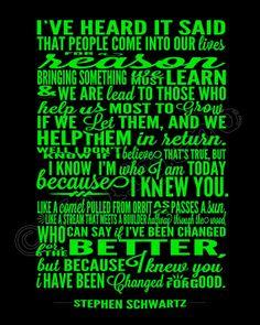 Broadway Musical Quotes For Graduation Quotesgram