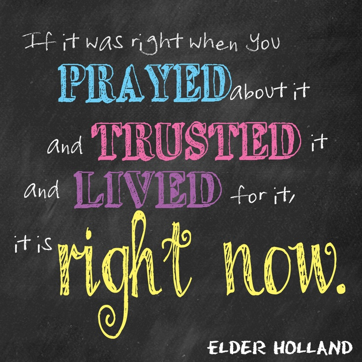 Elder Holland Good Things To Come Quote: Elder Holland Quotes. QuotesGram
