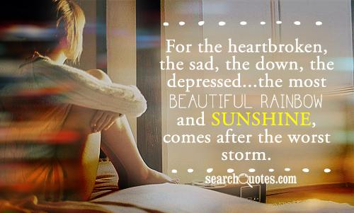 Sunshine After The Storm Quotes