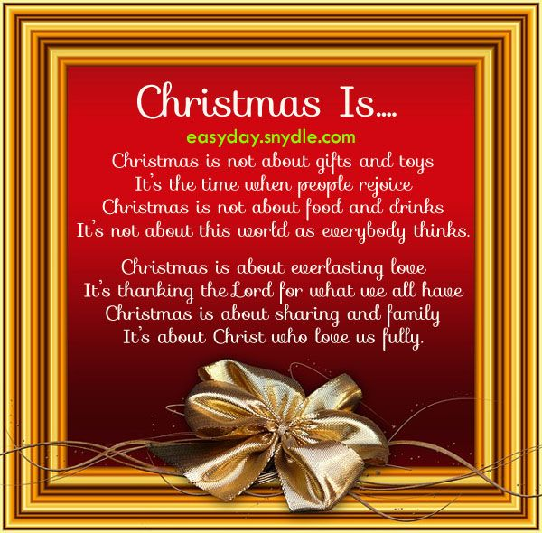 Short Religious Quotes About Family: Religious Christmas Poems And Quotes. QuotesGram