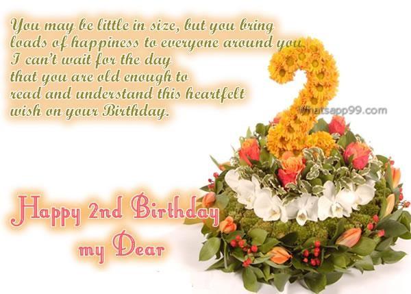 Happy 2nd Birthday Quotes Quotesgram