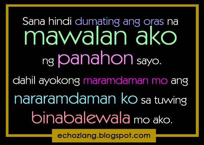 tagalog quotes para sa boyfriend quotesgram