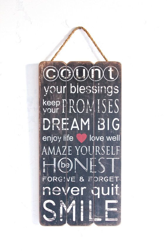 Decorative Wooden Signs With Quotes. QuotesGram