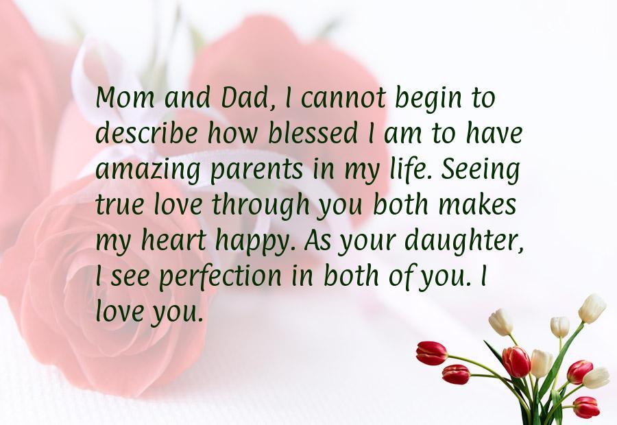 Wedding Anniversary Quotes For Parents Quotesgram
