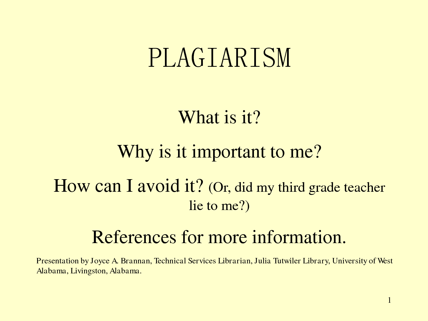 how to quote to avoid plagiarism