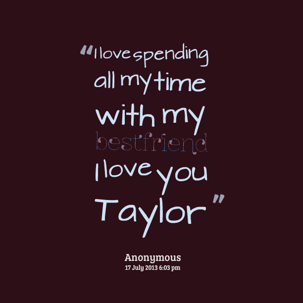 spending time in relationship quotes