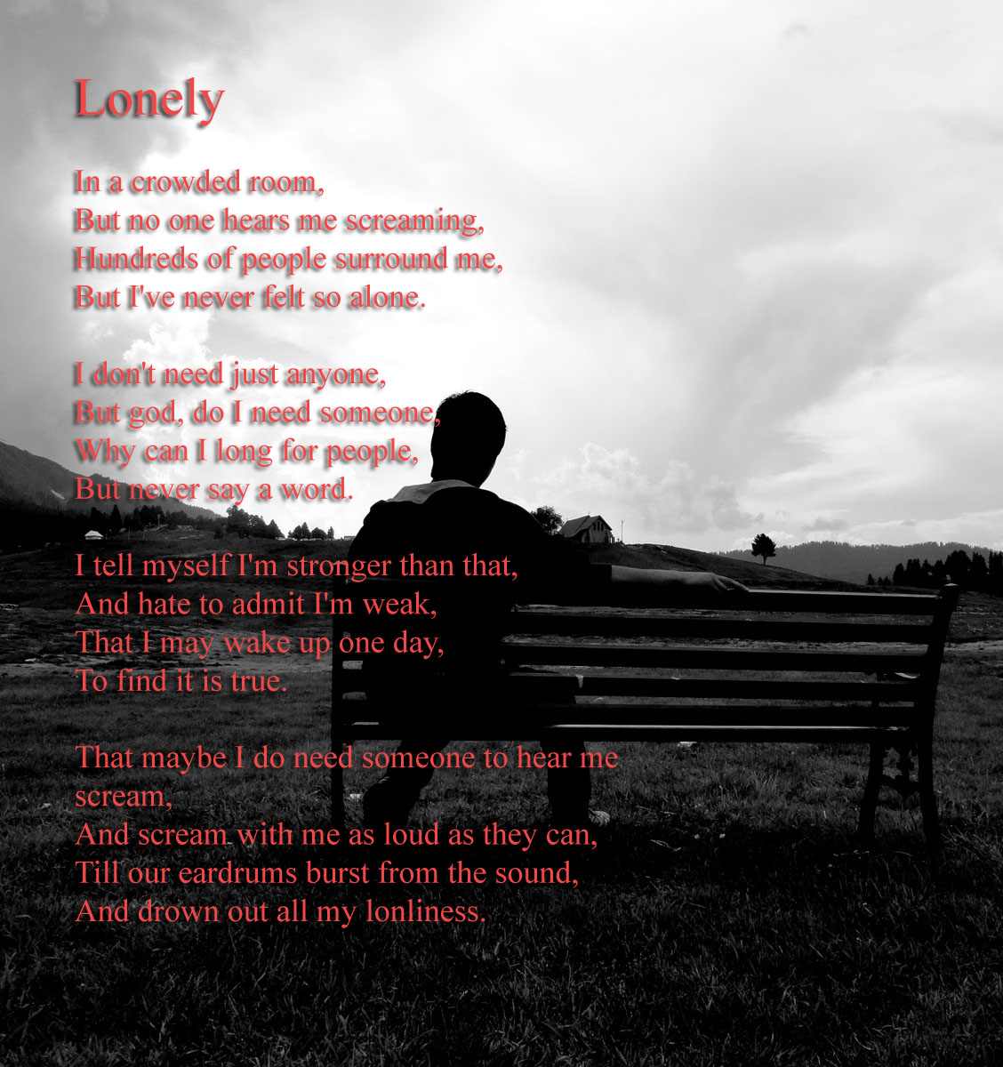 Some Lonely Quotes: Loneliness Poems And Quotes. QuotesGram