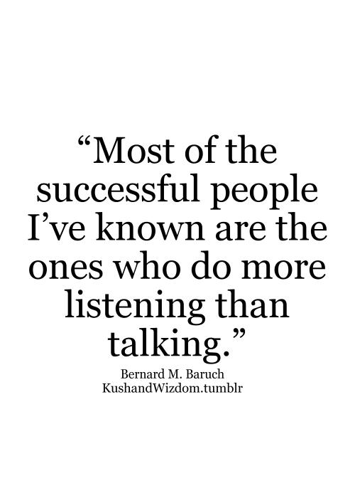 Listen More Talk Less Quotes QuotesGram
