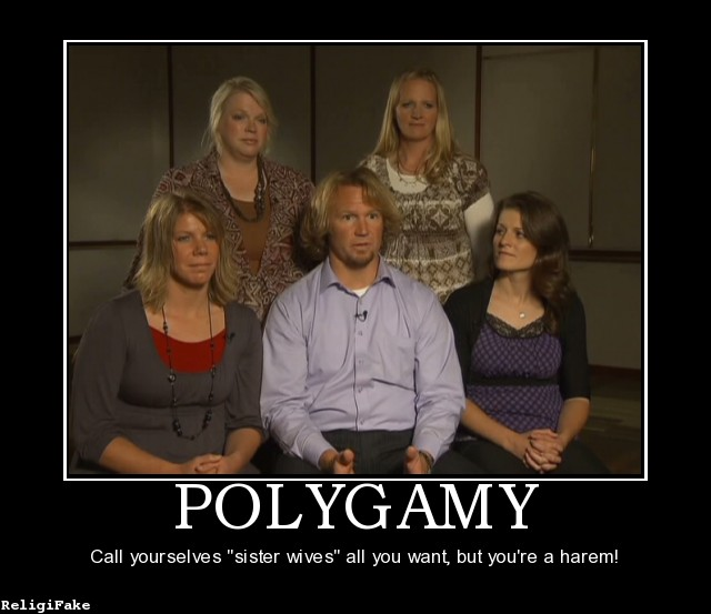 Funny Meme For Wife : Polygamy sister wife funny quotes quotesgram