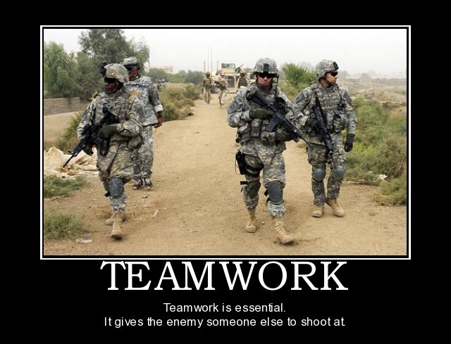 Teamwork in it
