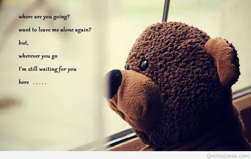 Quotes About Leaving Me Alone. QuotesGram