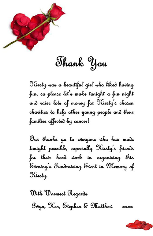 Thank You Letter To Someone Who Helped You