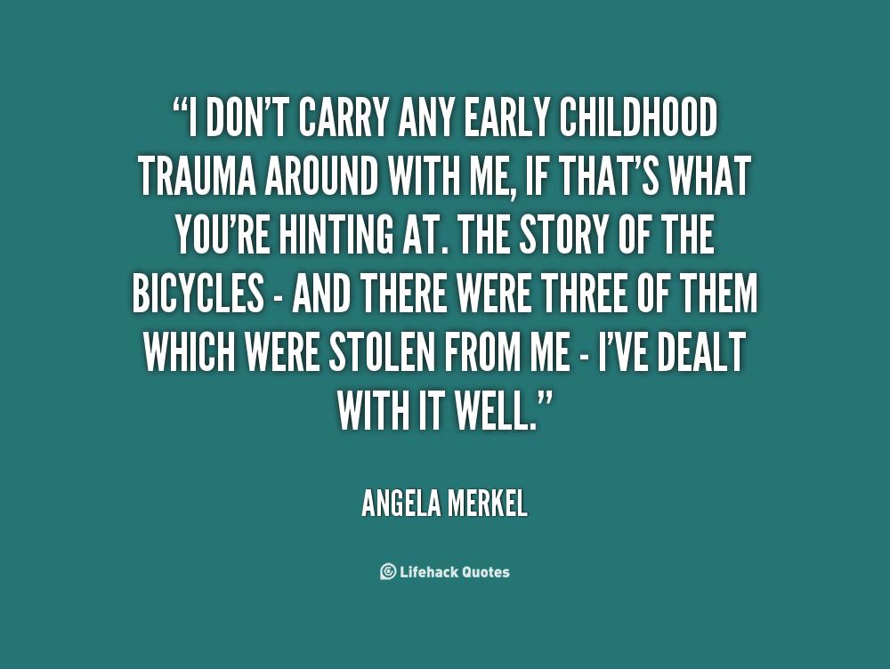 Inspirational Quotes About Trauma Quotesgram