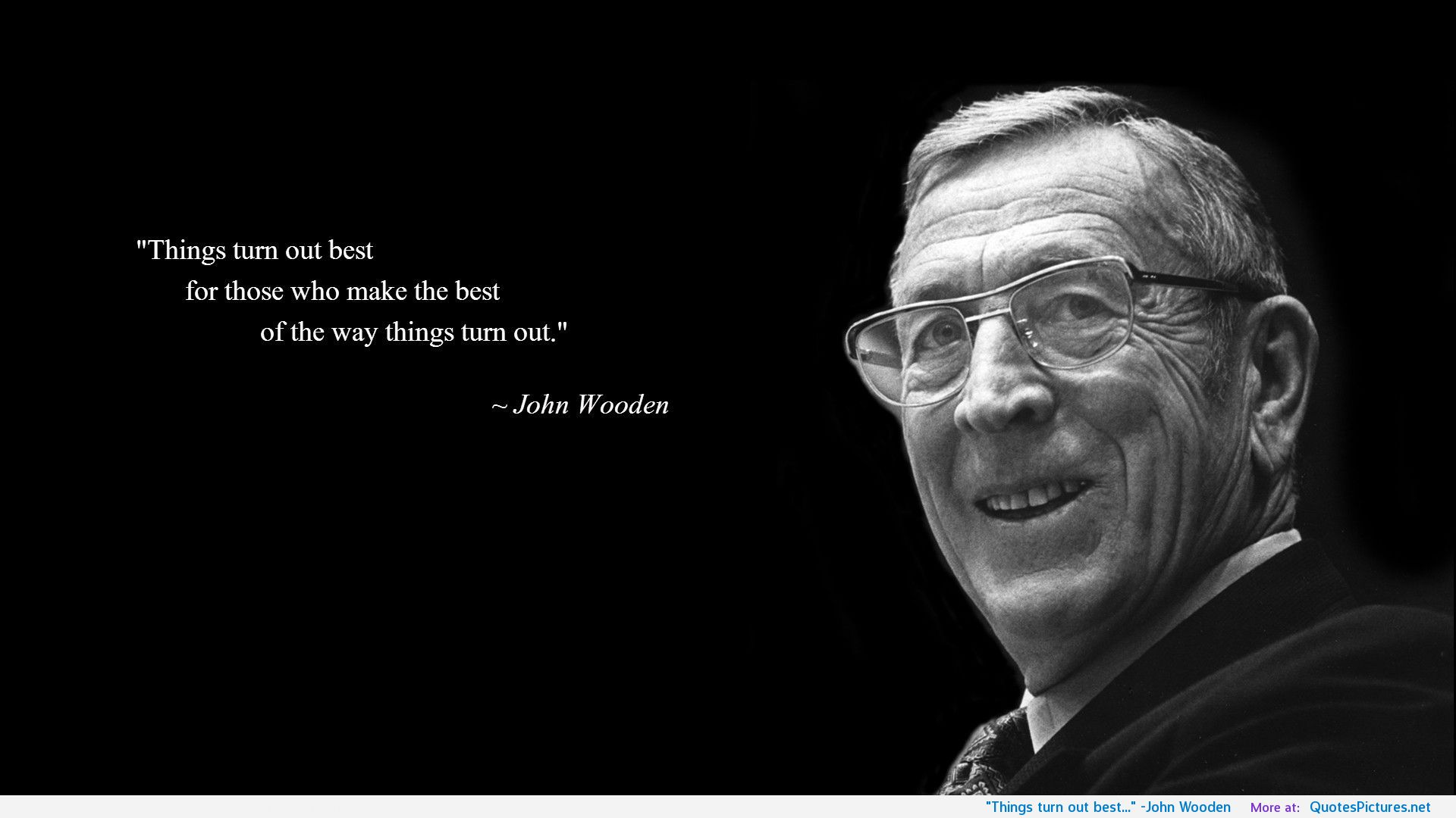 john wooden wooden on leadership 2005-1-1  in this getabstract summary, you will learn: what traits constitute coach john wooden's pyramid of leadership why he follows seven principles he learned from his father and how his lessons apply to business, including why you should focus on process not results.