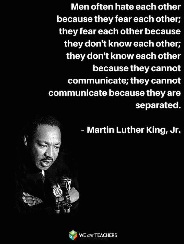 martin luthr king' quotes Martin luther king jr was born in atlanta, georgia on january 15th, 1929 he  was a pivotal advocate for african americans during the civil rights movement in .