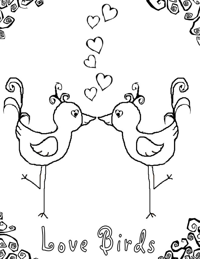 true love coloring pages - photo#23