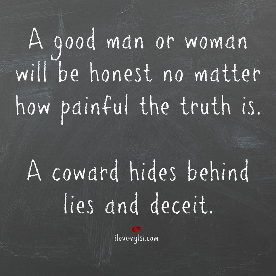Hiding From The Truth Quotes. QuotesGram