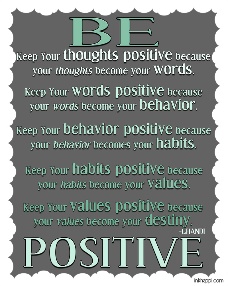 Quotes About Thinking: Quotes Positive Thinking Printable. QuotesGram