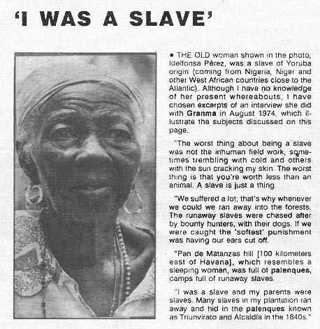 slavery was unprofitable for slave owners There was no longer a need for large numbers of slaves to be imported to   plantation owners decided that wage labour was more profitable than slave  labour.