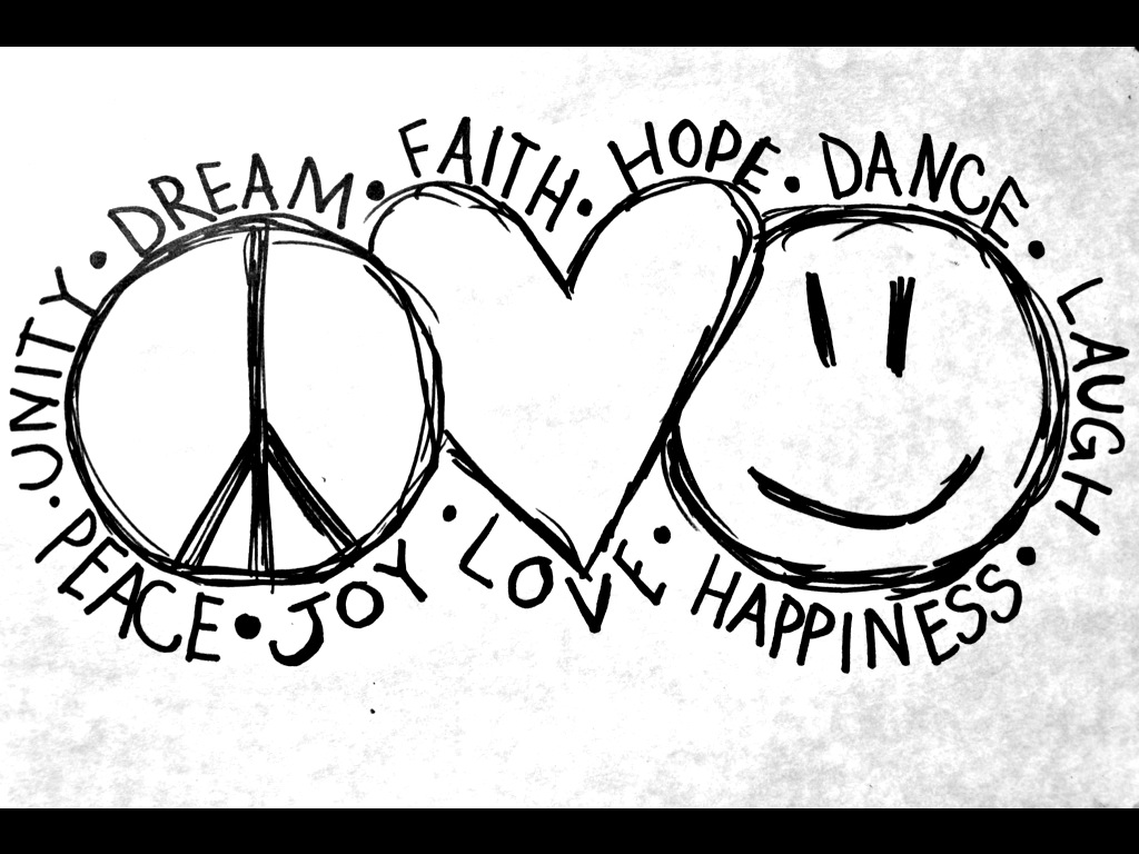 Peace And Love Images And Quotes: Peace Love Life Quotes. QuotesGram
