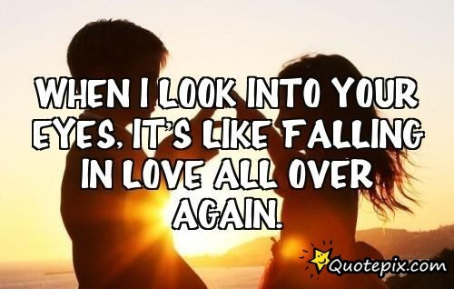 when i look into your eyes quotes quotesgram