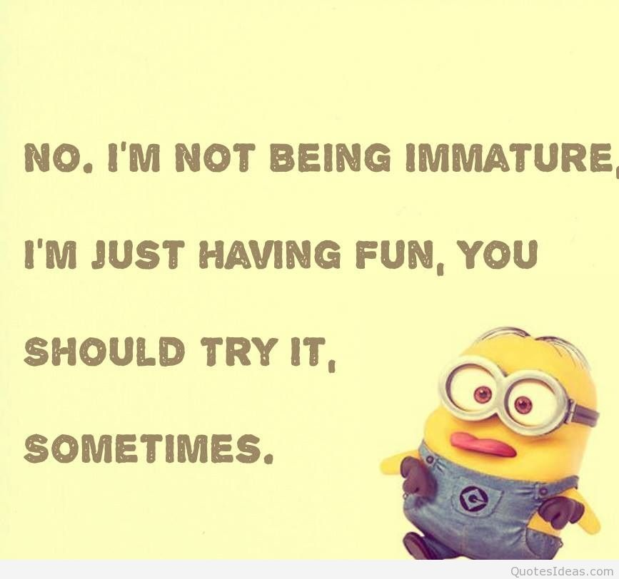 Birthday Funny Minion Quote Pictures Photos And Images: Minion Birthday Quotes. QuotesGram