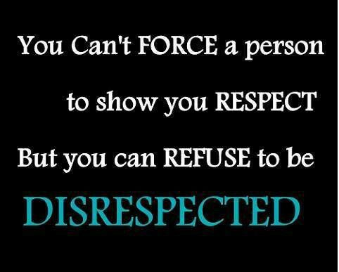Respect Quotes And Sayings Quotesgram