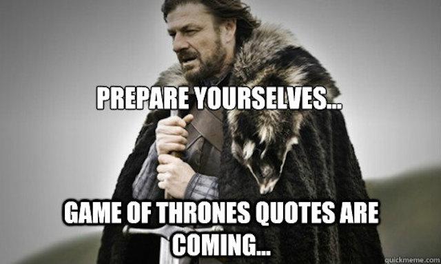 Game Of Thrones Winter Quotes. QuotesGram