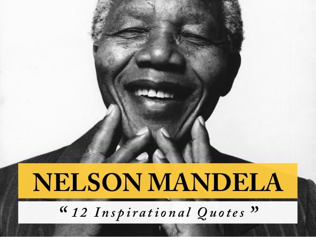 Leadership and spirituality: The story of Nelson Mandela