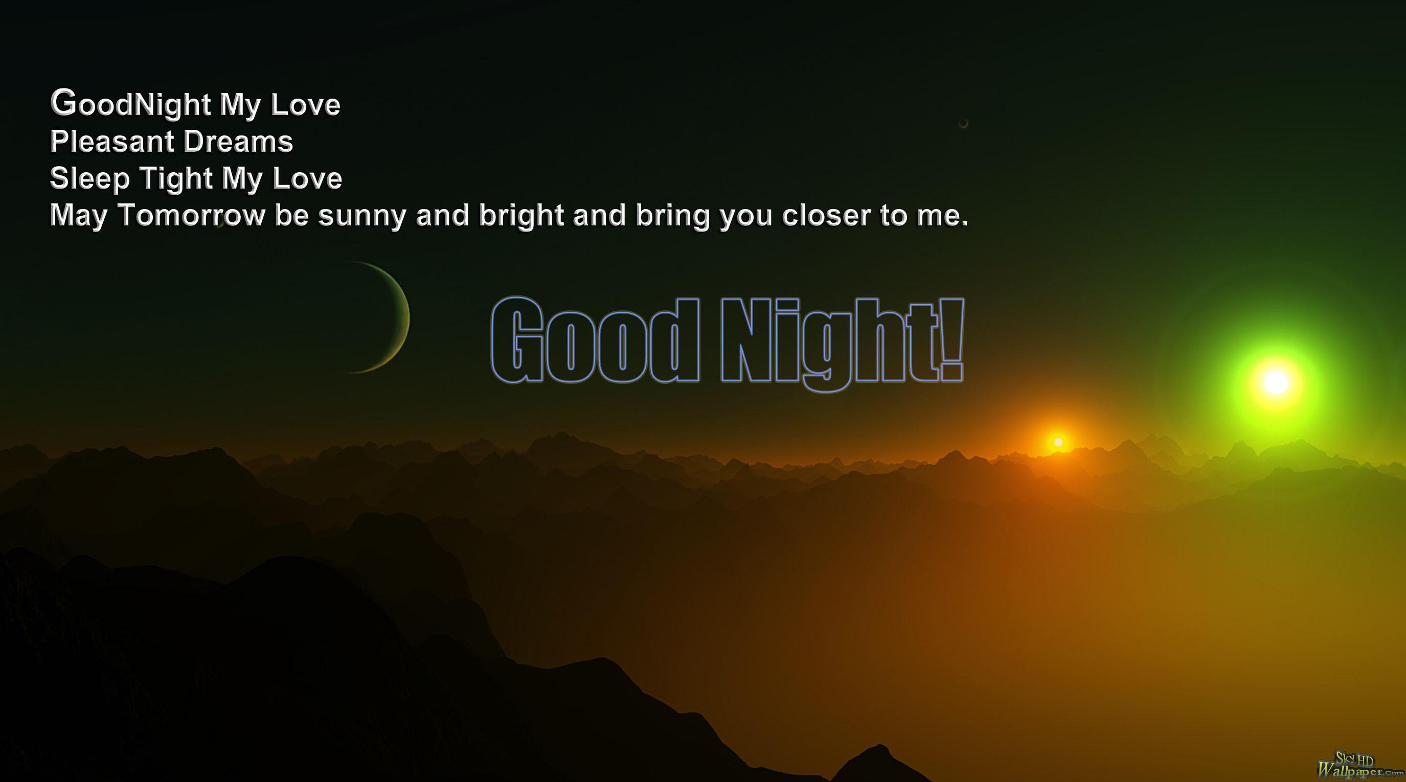 goodnight my love quotes quotesgram