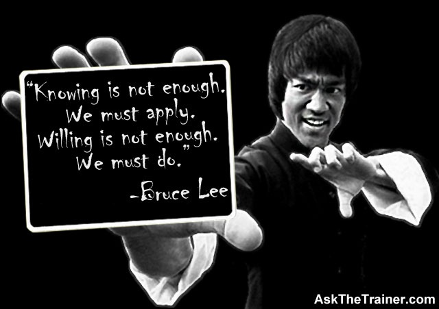 Bruce Lee Quotes Positive. QuotesGram