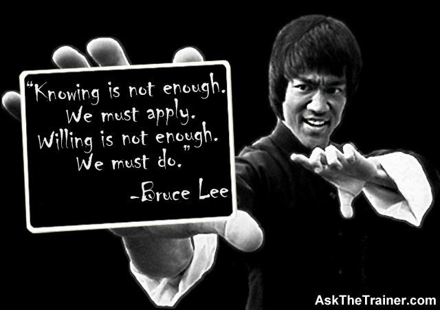 Bruce Lee Quotes Positive Quotesgram
