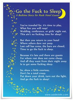 Bedtime Quotes Humor. QuotesGram Funny Hotel Story