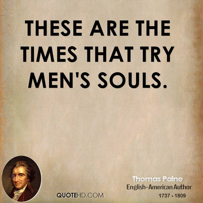 Love Each Other When Two Souls: Thomas Paine Quotes And Meaning. QuotesGram
