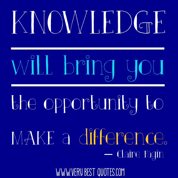Inspirational Quotes About Positive: Inspirational Quotes About Knowledge. QuotesGram