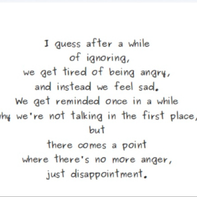 Sad Quotes About Love: Feeling Disappointed Quotes. QuotesGram